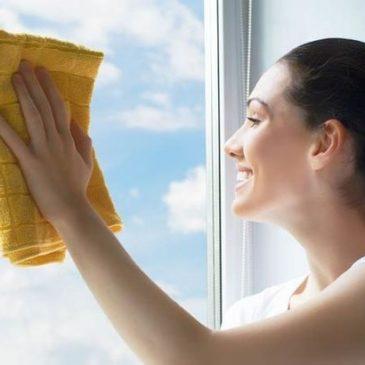 Przedświąteczne mycie okien